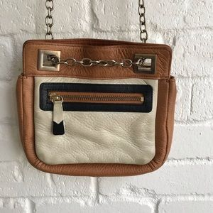 Pilcro & the Letterpress Anthro leather crossbody